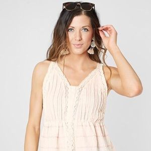 The Buckle - GIMMICKS EMBROIDERED TANK TOP